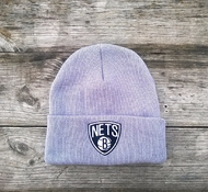 Шапка Brooklyn Nets Mitchell & Ness Team Talk Cuff Knit